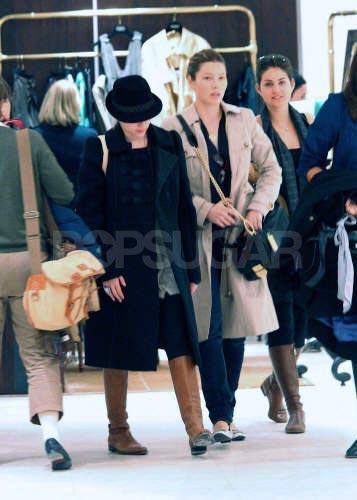Scarlett Johansson y Jessica Biel juntas