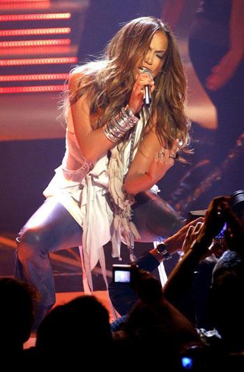 Jennifer Lopez durante Echo de Berlín