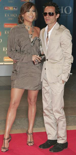 Jennifer Lopez y Marc Anthony Echo Music Awards 2