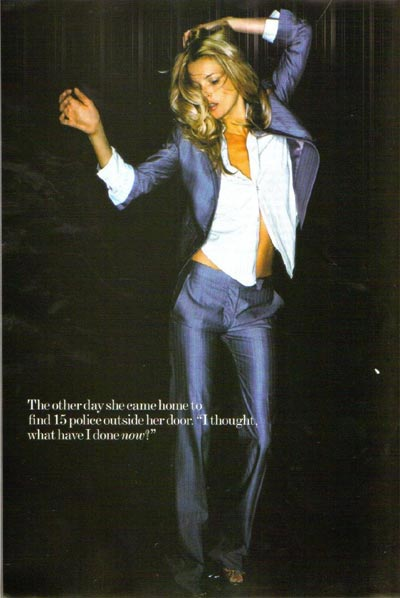 Kate Moss posa revista