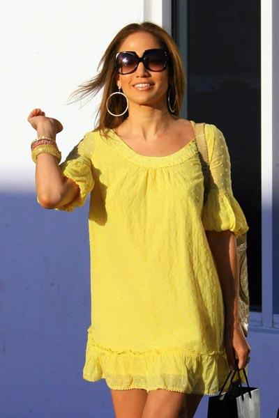 Jennifer Lopez en Miami
