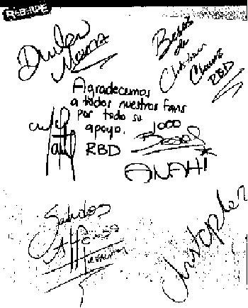 RBD agradece a sus fans