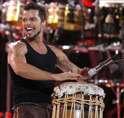 Ricky Martin triunfa Argentina