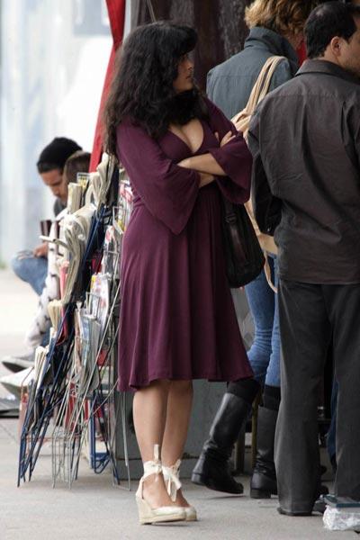 Salma Hayek: Embarazada y comprometida 3