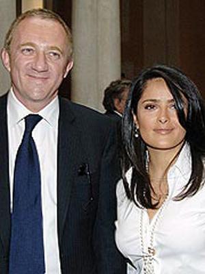 Salma Hayek comprometida