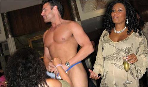 Strippers Baby Shower Melanie Brown