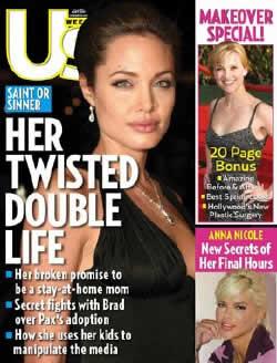 La doble y retorcida vida de Angelina Jolie