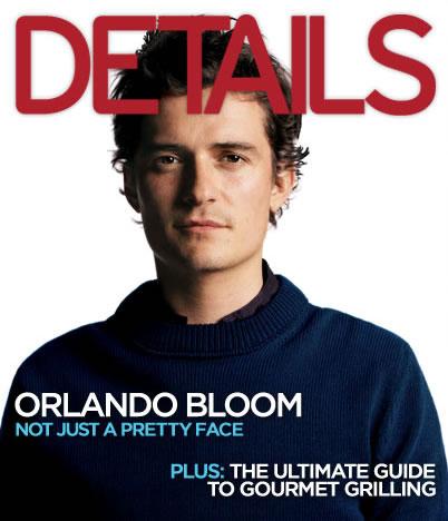Orlando Bloom portada Details