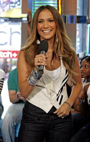 Jennifer Lopez en MTV 2