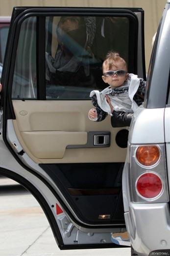 El bebé más cool de Hollywood