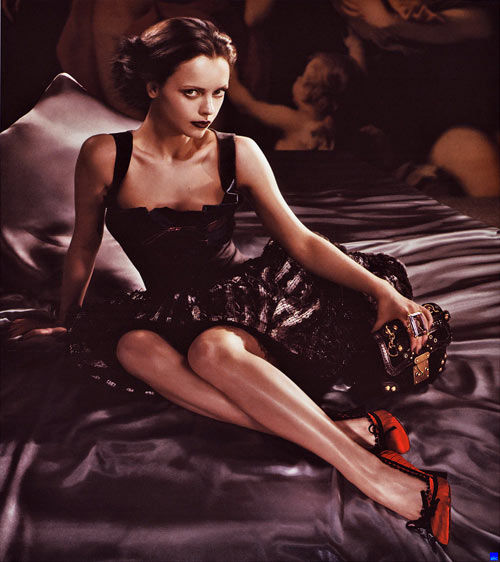 Christina Ricci para Louis Vuitton