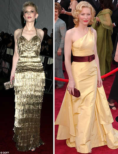 Cate Blanchett anorexica