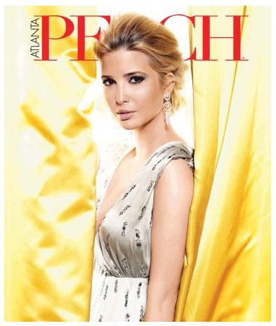 Ivanka Trump portada de Peach