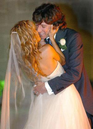 La boda de Paulina Rubio y Colate