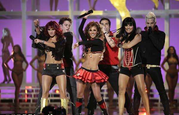 RBD en Miss Universo