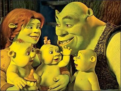 nueva familia de shrek