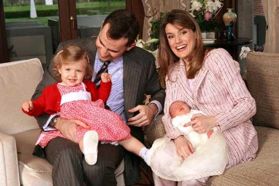 Príncipes de Asturias junto a sus hijas 2