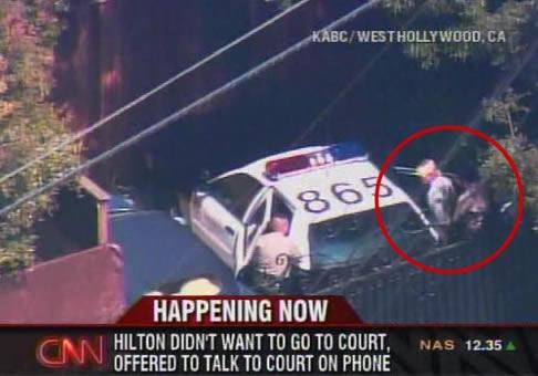 Paris Hilton vuelve a prisión