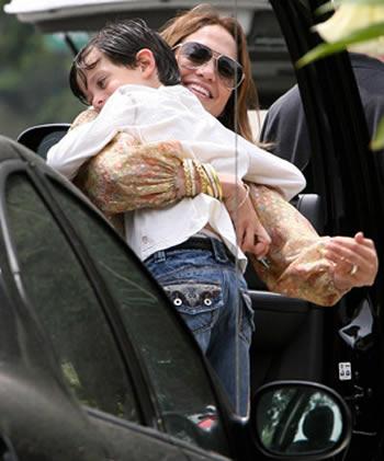 Jennifer Lopez tremenda mamá
