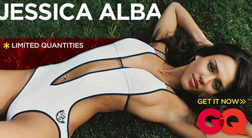 Jessica Alba portada GQ