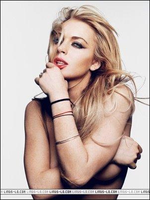 sesión de fotos Lindsay Lohan 2