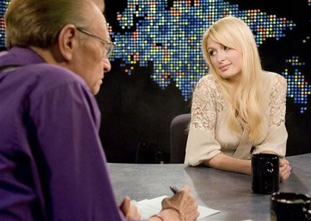 Entrevista Paris Hilton por Larry King