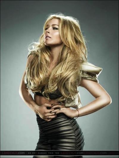 Lindsay Lohan para Radar 3
