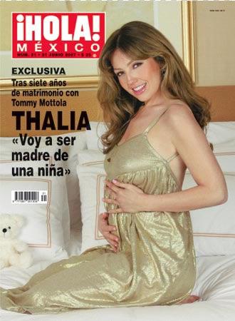 Thalía esta embarazada