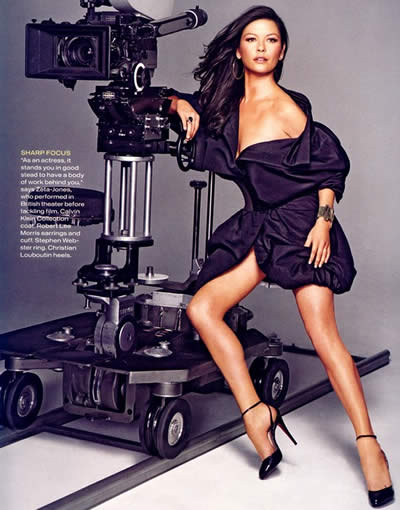 Catherine Zeta Jones en Instyle 4