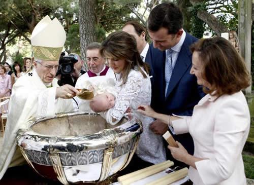 Bautizo Real de la Infanta Sofía 5