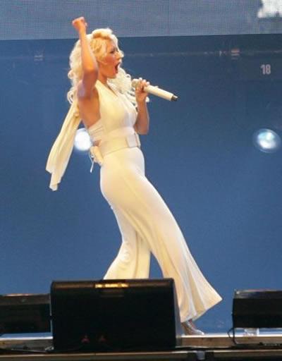 Confirmaron embarazo de Christina Aguilera