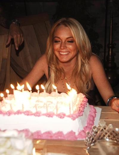 Cumpleaños Lindsay Lohan