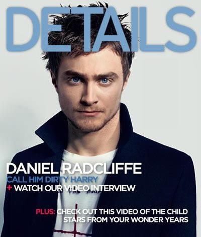 Daniel Radcliffe en portada