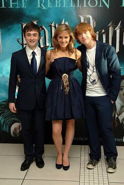 Premier de Harry Potter y La Orden del Fénix