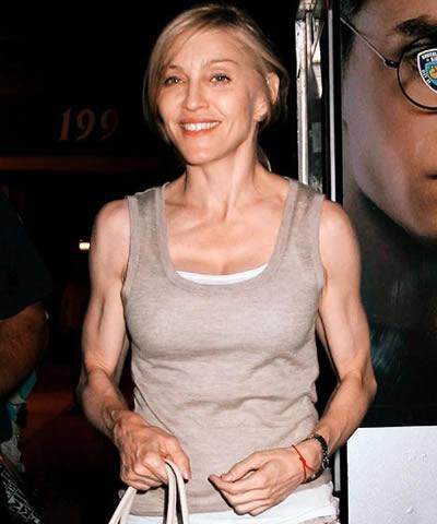 Madonna luce muy acabada
