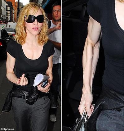 Madonna abusa del ejercicio