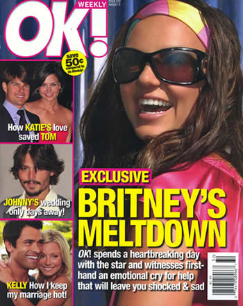 fiasco de entrevista de Britney Spears