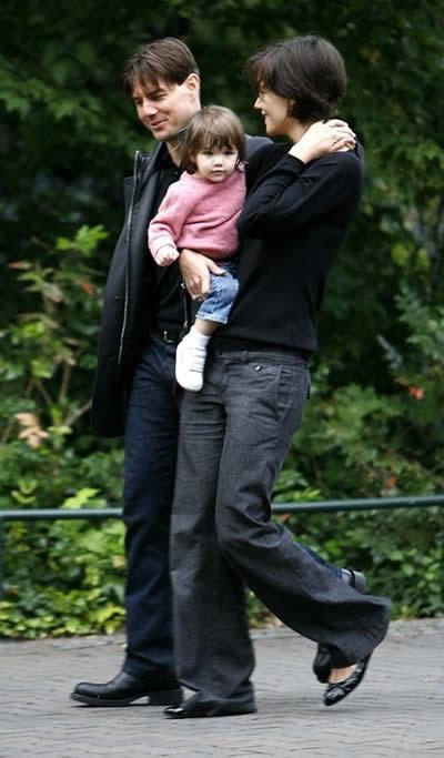 Tom Cruise y Katie Holmes visitaron el zoológico 3