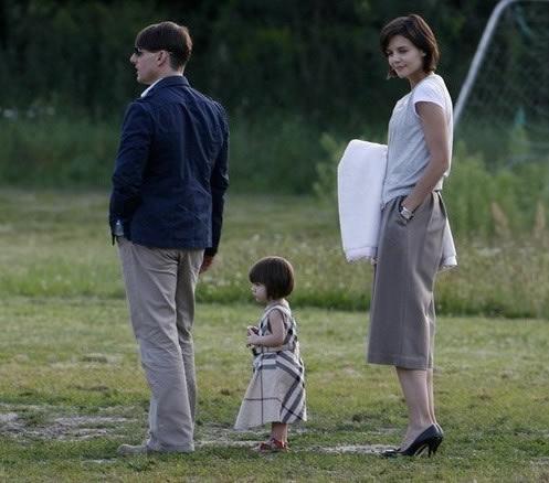 Tom Cruise y su hija Suri en Berlín 2