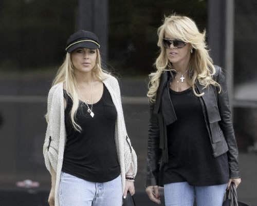 Lindsay Lohan termina su rehabilitación 3