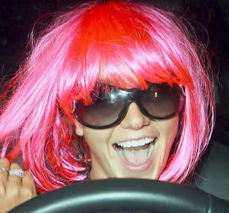 Britney se entregó a la policía