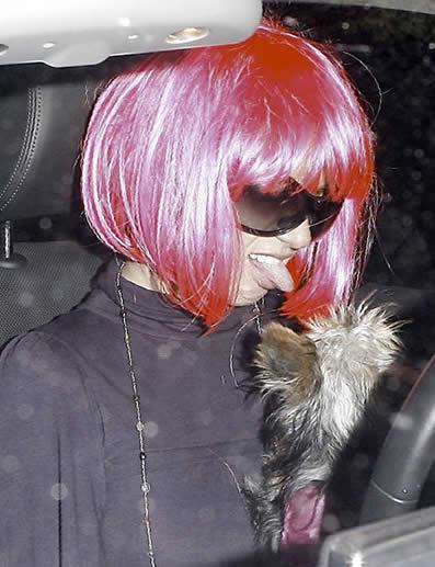 Britney se entregó a la policía 2