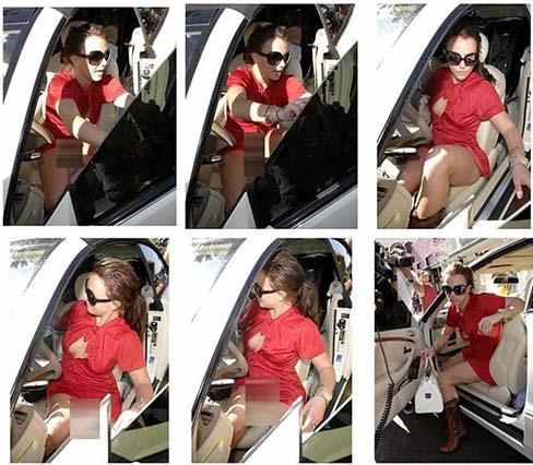 Britney sin calzón