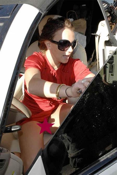 Britney sin calzón 4