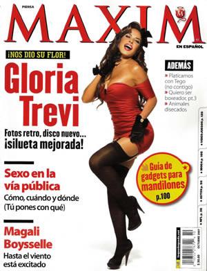 Gloria Trevi en Maxim