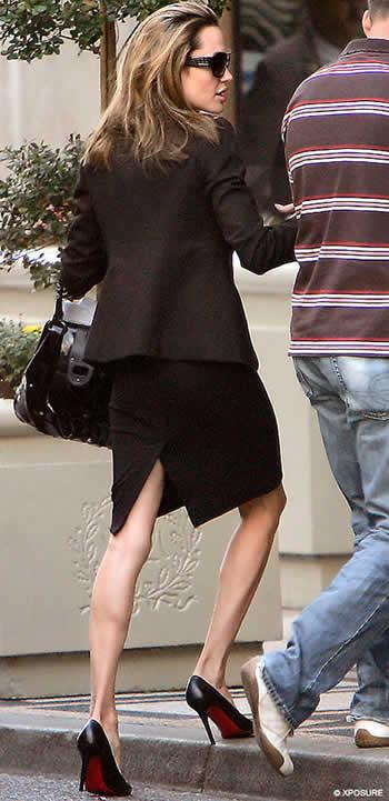 Alarmantes fotos de Angelina Jolie 2