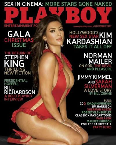Kim Kardashian Playboy portada