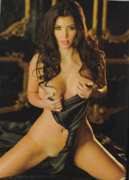 Kim Kardashian en Playboy 3