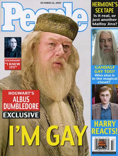 personaje de Harry Potter es Gay