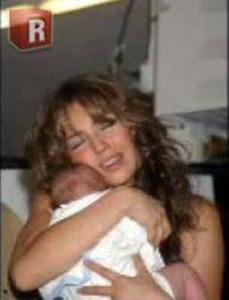 Thalia y su hija
